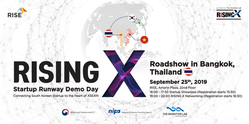 RISING X Startup Runway Demo Day in Bangkok