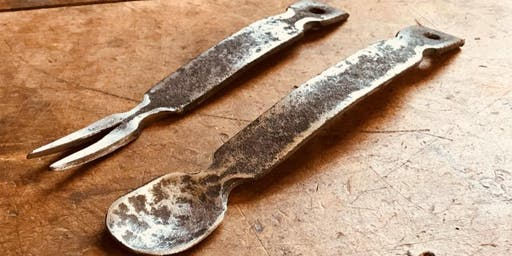 Blacksmithing, Crafting a Set of Camp Utensils - Fall on the Farm Workshop Festival