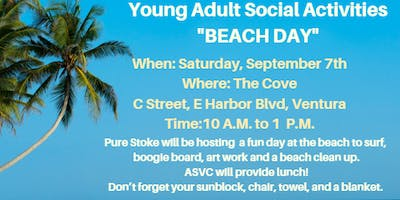 "Autism Society Ventura County Young ***** Social Activity ""BEACH DAY"""
