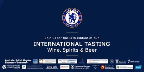 11th Annual Council of Foreign Chambers International Tasting: Wine, Spirits & Beer tickets