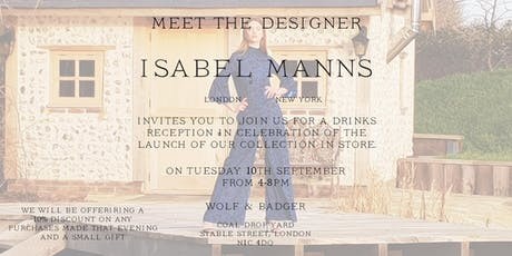 Meet The Maker: Isabel Manns tickets