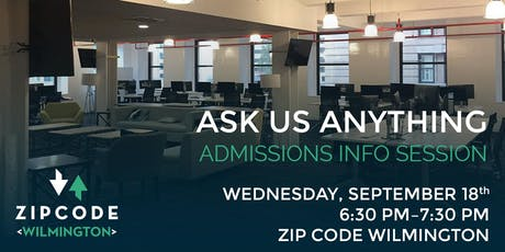 Admissions Information Session tickets