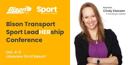 Bison Transport Sport LeadHERship Conference tickets