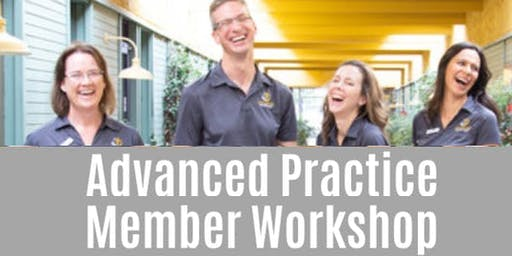 Advanced Practice Member Workshop 3Q 2019