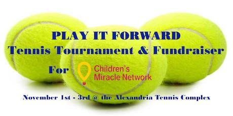 Play It Forward Tennis Tournament tickets