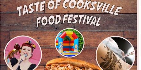 Taste of Cooksville tickets