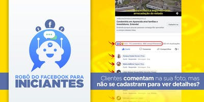 Robô do Facebook para Iniciantes em Balneário Camboriú
