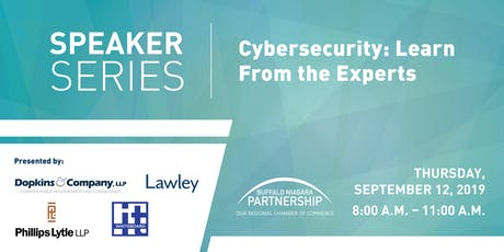 2019 Speaker Series: Cybersecurity: Learn from the experts tickets