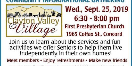 Clayton Valley Village Community Event