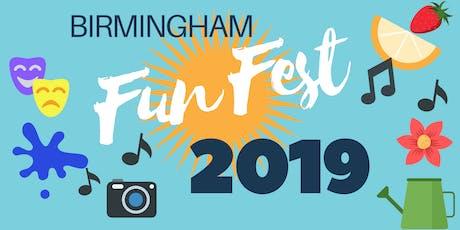 Birmingham Fun Fest 2019 tickets