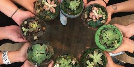 Build Your Own Terrarium Class at The Junction with Organic Green Gardens  tickets
