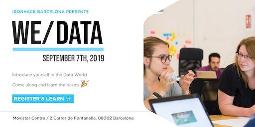 WE|DATA : Learn the basics of Data Analytics