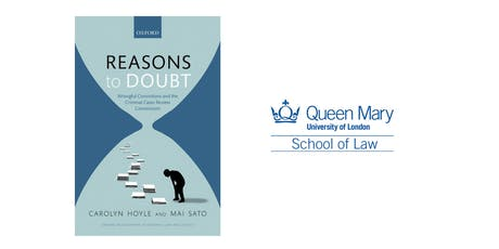Criminal Justice Centre Event: Reasons to Doubt tickets