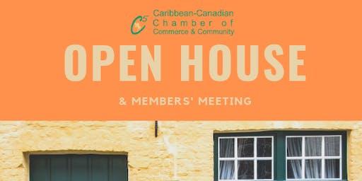 C5  Open House & Members' Meeting - Sept 15