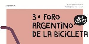 3er Foro Argentino de la Bicicleta (FAB) 19 y 20 de...
