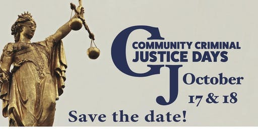 Community Criminal Justice Days, 2019