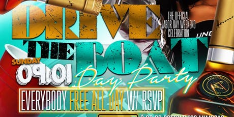 """"""" Drive The Boat """"  Official Labor Day Weekend Day Party  tickets"""