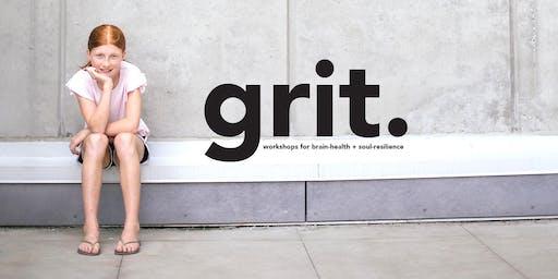 GRIT (for girls) at Larson Elementary (grades 3-5) Thursday Sept 26-Nov 7 (no class Oct 31) / grades 3-5 / 3:15-4:45pm