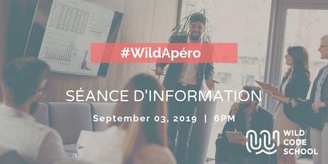 Wild Apéro - Séance d'information à la Wild Code School  billets