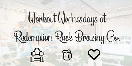 Workout Wednesdays: Power Yoga at Redemption Rock Brewing Co. tickets