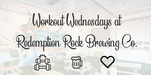Workout Wednesdays: Power Yoga at Redemption Rock Brewing Co.