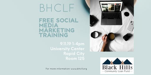 BHCLF FREE SOCIAL MEDIA MARKETING TRAINING
