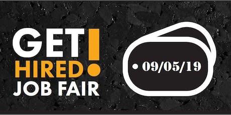 2019 GET HIRED! Job Fair - Job Seeker Registration  tickets
