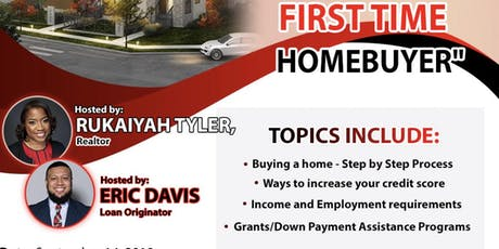 "The Millennial Agent Presents ""I Want to be a First Time Homebuyer"" tickets"