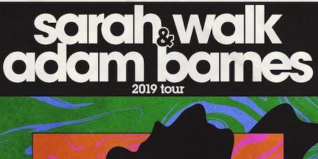 Sarah Walk + Adam Barnes + Jo Laureys @ Madam Fortuna, Antwerp tickets