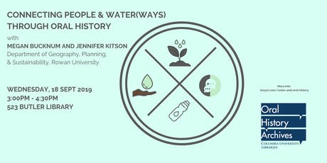Connecting People and Water(Ways) Through Oral History tickets
