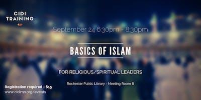 Basics of Islam for Religious/Spiritual Leaders