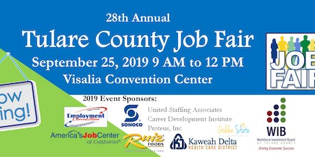 28th Annual Tulare County Job Fair tickets