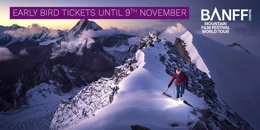 Banff Mountain Film Festival - Liverpool - 24 April 2020