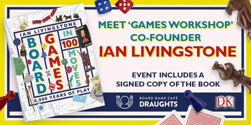 'Board Games In 100 Moves' Launch Event (Copy of the book included)