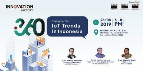 Emerging Technology: IoT Trends in Indonesia tickets