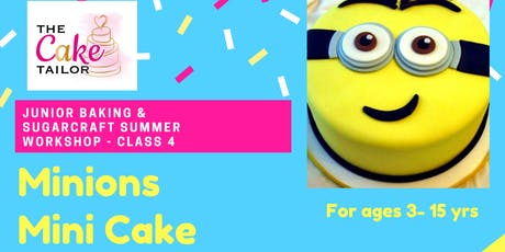 Summer Holiday Junior Baking & Sugarcraft Workshop 3-15 yrs (Purley) tickets