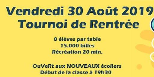 POITIERS POKER CLUB - Tournoi de Rentrée