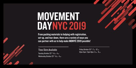 Movement Day NYC Volunteers tickets