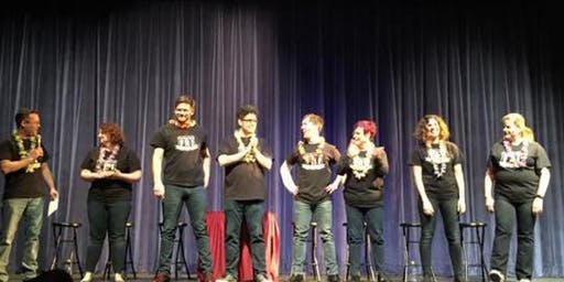 Live Comedy w/ Free Range Improv!