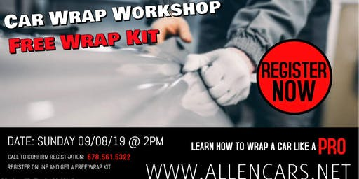 Learn to Wrap Cars like a Pro: Beginners Workshop