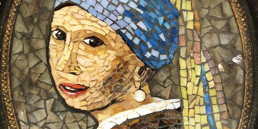 "Mosaic with Mary:""Old Masters Art"" Designs in Glass"