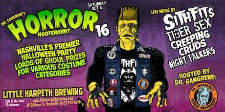 Horror Hootenanny #16 tickets