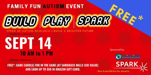 Build, Play, SPARK | FREE Autism Family Event