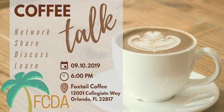 FCDA Coffee Talk tickets