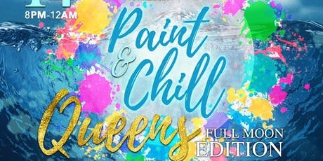 Queens Paint & Chill: Full Moon Edition tickets