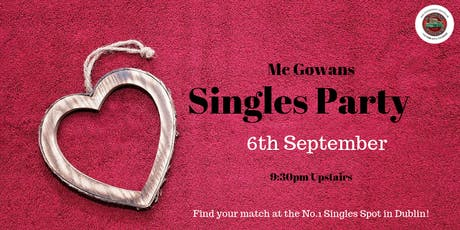 McGowans Singles Party tickets