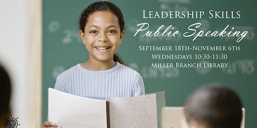 Public Speaking (Debate Club)