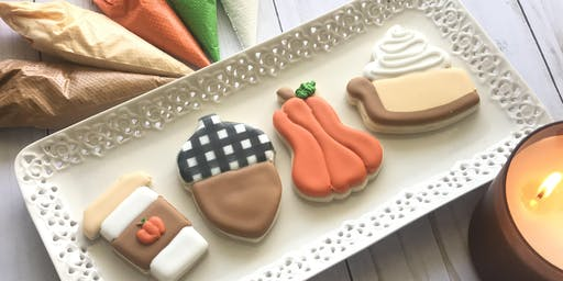 Fall themed Cookie  Decorating Class