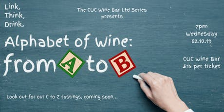 'Alphabet of Wine': From A to B tickets