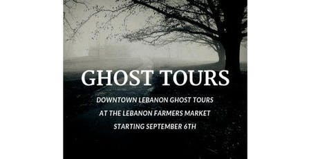 Downtown Lebanon Ghost Tours tickets
